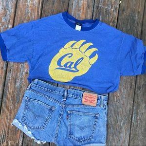Vintage Cal Crop Top